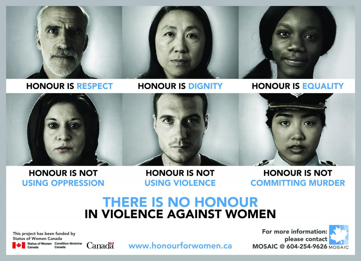 """There is No Honour in Violence Against Women"" Campaign"