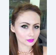 Aylyn, Hair and Makeup Artist from the Philippines