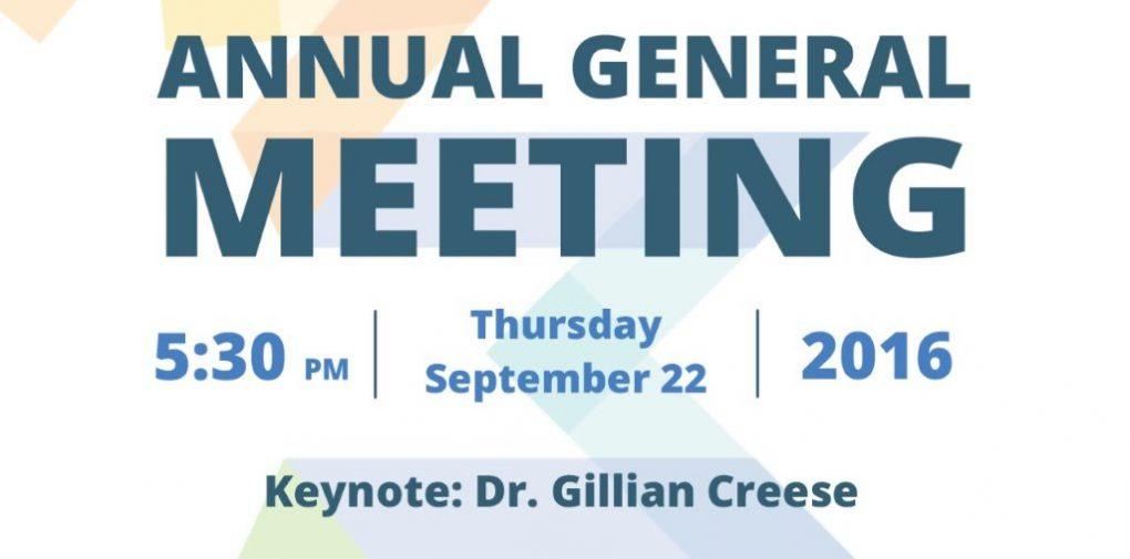 AGM 2016 invite