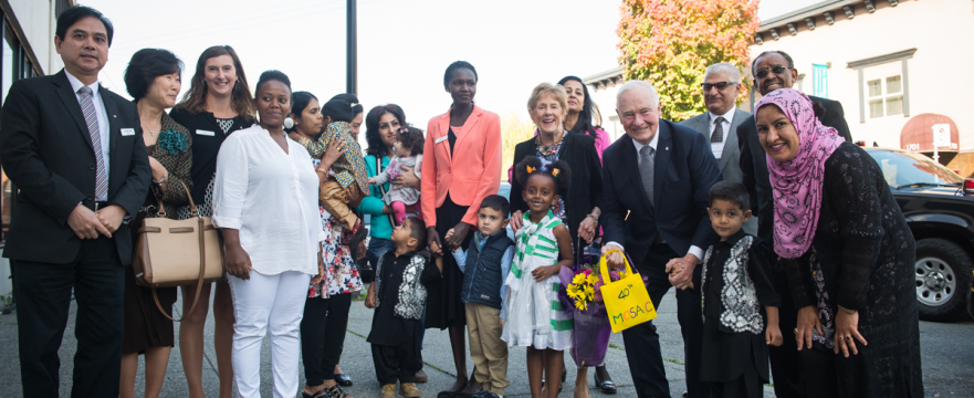 Governor General of Canada visits MOSAIC