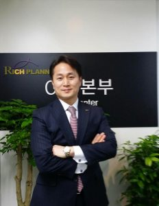 Managing Director Steve Park, Head of CFP Center in May, 2014.