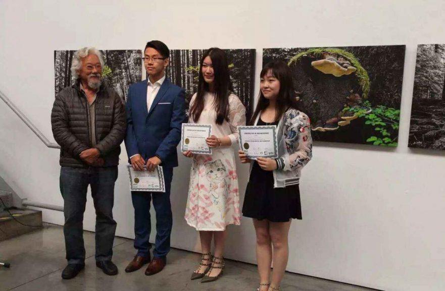 David Suzuki attends BURGEON fundraiser - MOSAIC