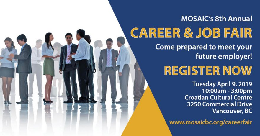 MOSAIC Career & Job Fair - MOSAIC
