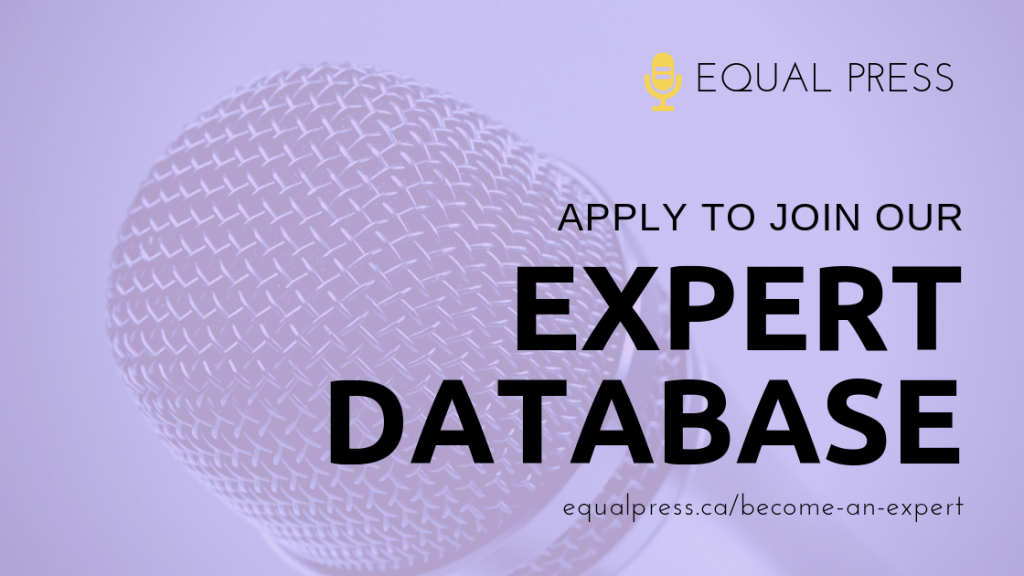 We invite you to join the Equal Press expert database!