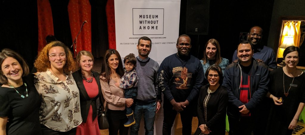 Community Leaders with Refugee Background Share Stories of Welcome at Museum Without a Home, Victoria