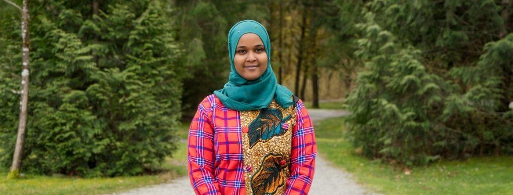 Spotlight: Ayaan Ismail, recipient of the Eyob G. Naizghi Scholarship Award